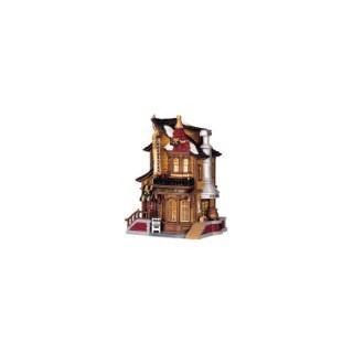 Maison Chocolaterie de Lucy à piles Caddington Village 13,5x10,4x18 cm 315309