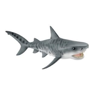 Figurine Requin tigre Série Animaux sauvages 15,7x7,5x5,4 cm 316002