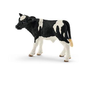 Figurine Veau Holstein Série Animaux de la ferme 7,5x3,8x5 cm 316007