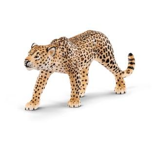 Figurine Léopard Série Animaux sauvages 12x2,5x5 cm 316108