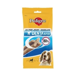 Friandise x7 chien moyen Pedigree dentastix 180g 320096