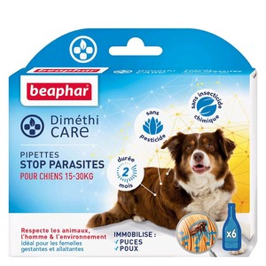Pipettes pour chien moyen DiméthiCARE 6 x 3 ml 321776