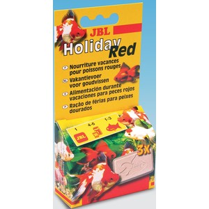 Bloc Holiday Red pour poissons rouges 322953
