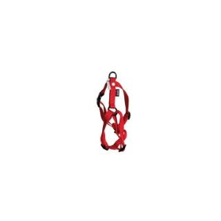 Harnais nylon rouge 25/35cm Martin Sellier 324335