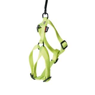 Harnais Confort vert citron pour chien - 1x25/35 cm 324336