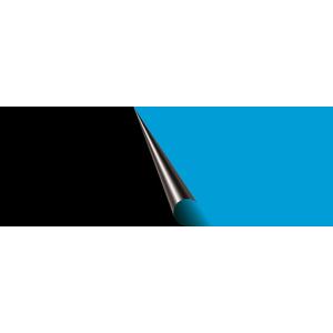 Poster pour aquarium noir et bleu 80x40 cm 326197