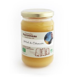 Miel de citronnier bio - pot en verre de 375 g 232746
