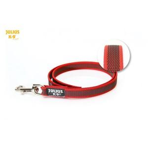 Laisse rouge pour chien Super-grip 2x120 cm 327185