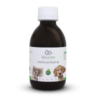 Complément alimentaire pour chien et/ou chat - Immunitaire (200 ml) 329104
