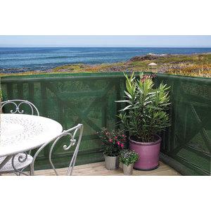 Clostra brise-vue en plastique, coloris vert, 500 x 120 cm 330797