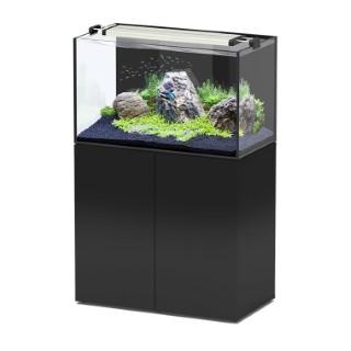 Aquarium aquaview 92 coloris noir et son meuble 92 x 50 x 55 cm 334243