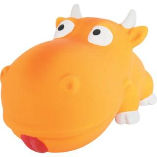 Jouet pour chien en latex glouton orange 18 cm 334390