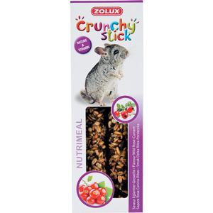Lot de 2 crunchy stick pour rongeurs goût églantier et groseille 115 g 334532
