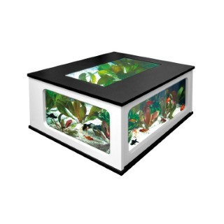 Aquarium Table 310L noir/blanc 33459