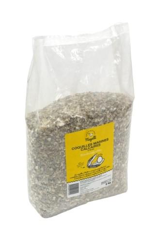 Coquilles d'huitres marines calcaires 5 kg 334803