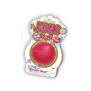 Jouet Chien Kong 7cm ball Large rouge 33502