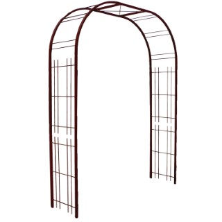 Arche Premium décor treillage en fer vieilli 335242