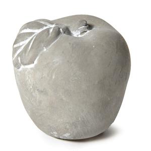 Pomme décorative béton 12 cm 335409