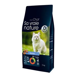 Croquettes pour chat stérilisé au saumon - 5 kg 335717