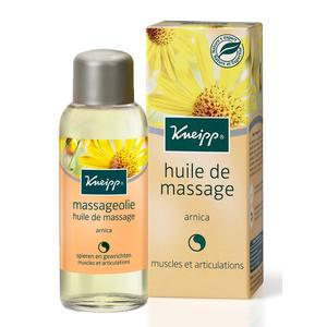 Huile de massage à l'Arnica Kneipp en flacon de 100 ml 336853