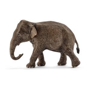 Figurine Eléphant d'Asie femelle Série Horse Club 13,7x6x8,5 cm 341123