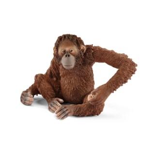 Figurine Orang-outan femelle Série Animaux sauvages 8x6x5,5 cm 341166