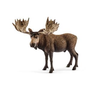 Figurine Elan mâle Série Animaux sauvages 12,5x6,6x10,3 cm 341173