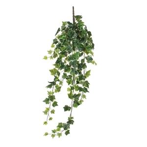 Lierre vert panaché artificiel à suspendre 86 cm 341189