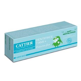 Dentifrice goût menthe bio pour 7 ans et + en tube de 50 ml 341385