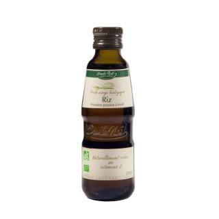 Huile de riz bio en bouteille de 250 ml 341484