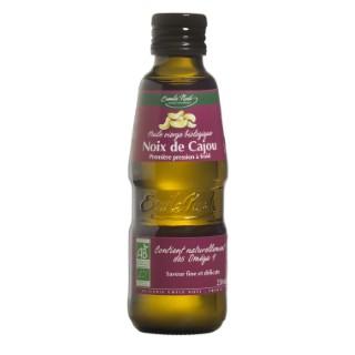 Huile de noix de cajou bio en bouteille de 250 ml 341487