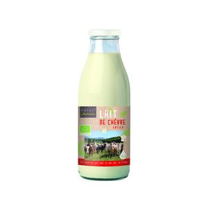 Lait de Chèvre stérilisé entier bouteille plastique 75cl 341544