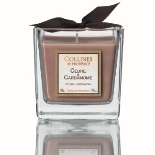 Bougie Parfumée 200 g Cèdre Cardamone 341622