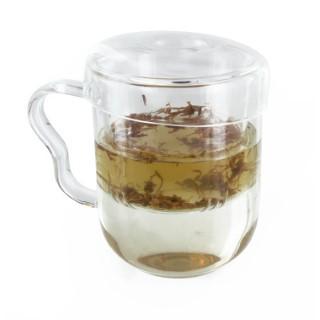 Mug en verre transparent 0,3 L 341657
