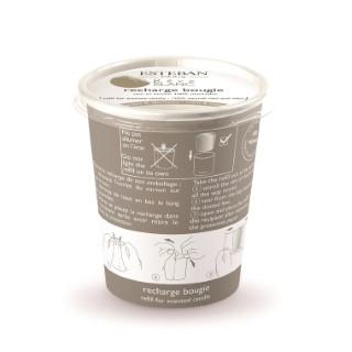Recharge de Bougies parfumée Rêve Blanc Esteban - 170 gr 341939