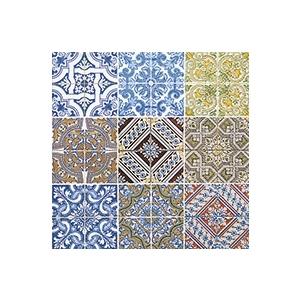 Serviettes x20 3 plis 25x25 cm Tiles 341992