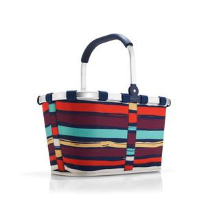 Panier pliant Carrybag rayé multicolore 48x29x28 cm 342361