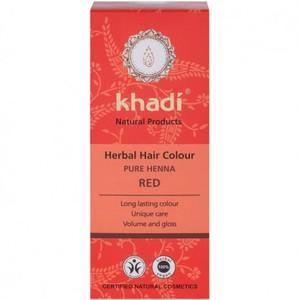 Teinture aux plantes bio henna pur rouge en format de 100 g 342585