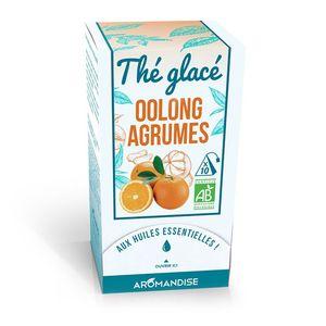 Thé glacé oolong et agrumes bio en boite de 30 g 342658