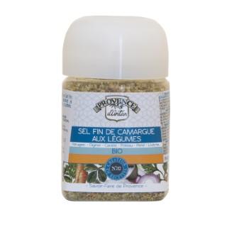 Recharge de sel fin de Camargue aux légumes bio 90 g 342746