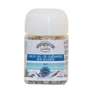 Gros sel de Guérande aux algues bio 60 g 342747