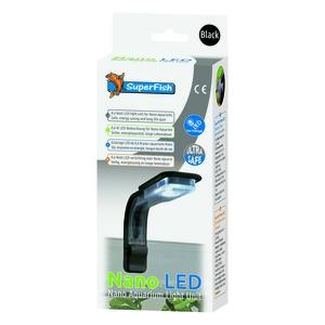 Éclairage Nano Led Noir 0,6 W. 9,5x5,5x20 cm 342989