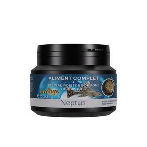 Aliment complet  pour poissons de fond herbivores - Boîte 100 ml 343010