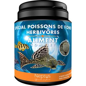 Aliment complet  pour poissons de fond herbivores - Boîte 250 ml 343011