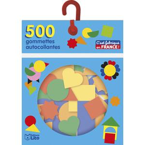 500 Gommettes Autocollantes Maternelle Les Gommettes Autocollantes 3 ans Éditions Lito 343582