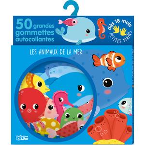 Les Animaux de la Mer Gommettes Petites mains 18 mois Éditions Lito 343584