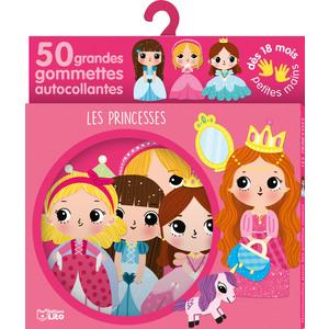 Les Princesses Gommettes Petites mains 18 mois Éditions Lito 343585