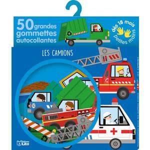Les Camions Gommettes Petites mains 18 mois Éditions Lito 343586