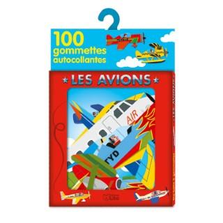 Les Avions Ma boîte à Gommettes 3 ans Éditions Lito 343600