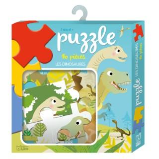 Les Dinosaures 16 pièces Ma Boîte à Jeux 3 ans Éditions Lito 343604
